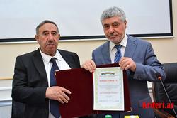Görkəmli dilçi alim Qara Məşədiyevin 80 illik yubileyi qeyd olunub
