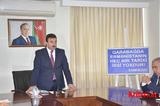 """Ağstafa Regional Mədəniyyət İdarəsində """"Qarabağda Ermənistanın heç biri tarixi irsi yoxdur"""" mövzusunda konfrans keçirildi"""