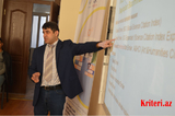 «Ali təhsil alan gənclərin elmi tədqiqat bacarıqlarının artırılması» layihəsinin ilk təlimi keçirilib
