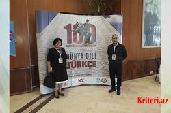 BDU-nun dilçi alimləri XI Beynəlxalq Dünya Dili Türkcə Simpoziumunda