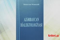 Azərbaycan dialektologiya elminə əvəzsiz töhfə