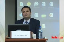 AMEA-nın türkoloq alimi Ortaq Əlifba simpoziumunda
