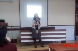 Доцент Казанского федерального университета провела мастер-класс на филологическом факультете