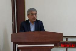 BDU-nun Filologiya fakültəsində professor Tofiq Hacıyev ustad dərsi aparıb